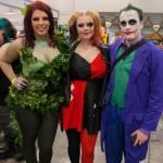 Supanova 2014 - Sydney cosplay - Poison Ivy, Harley Quinn and Joker