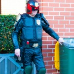 Supanova 2014 - Sydney cosplay - Judge Dredd enforces littering laws