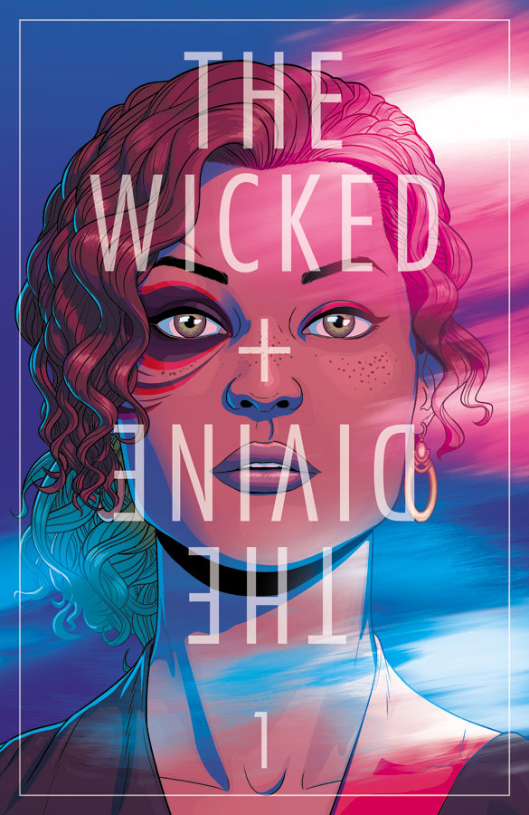 The Wicked + The Divine #1 (Image Comics) - Artist: Jamie McKelvie
