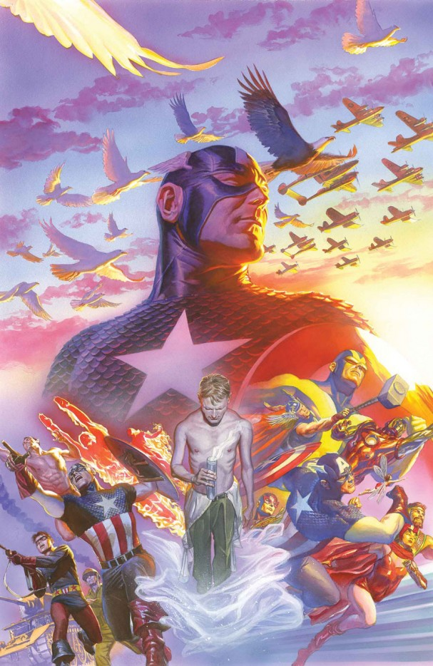 Captain America #22 - Alex Ross