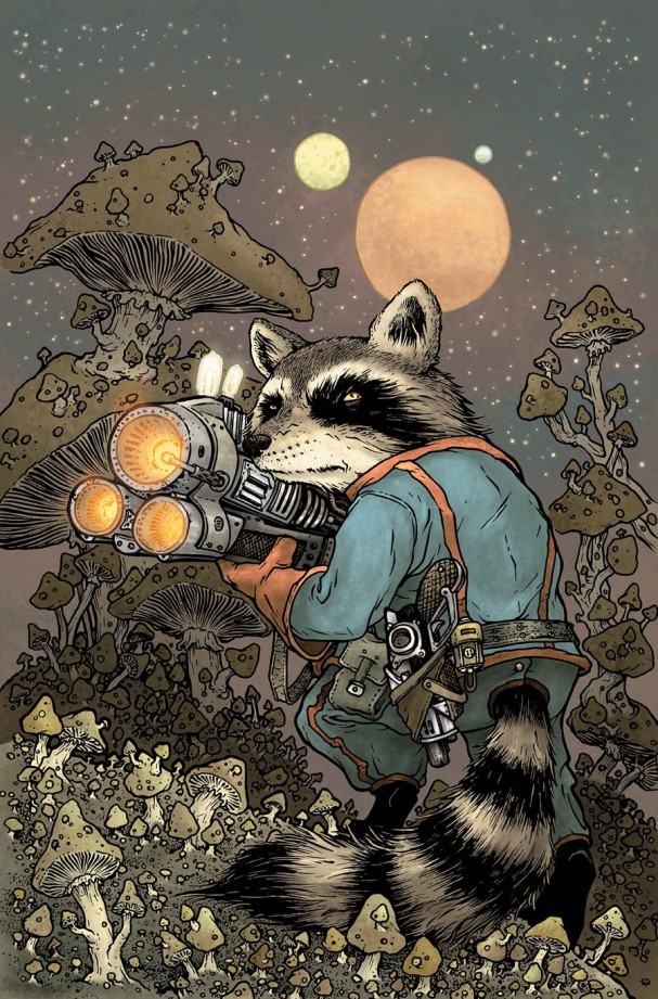 Rocket Raccoon #1 (Marvel) - Artist: David Petersen