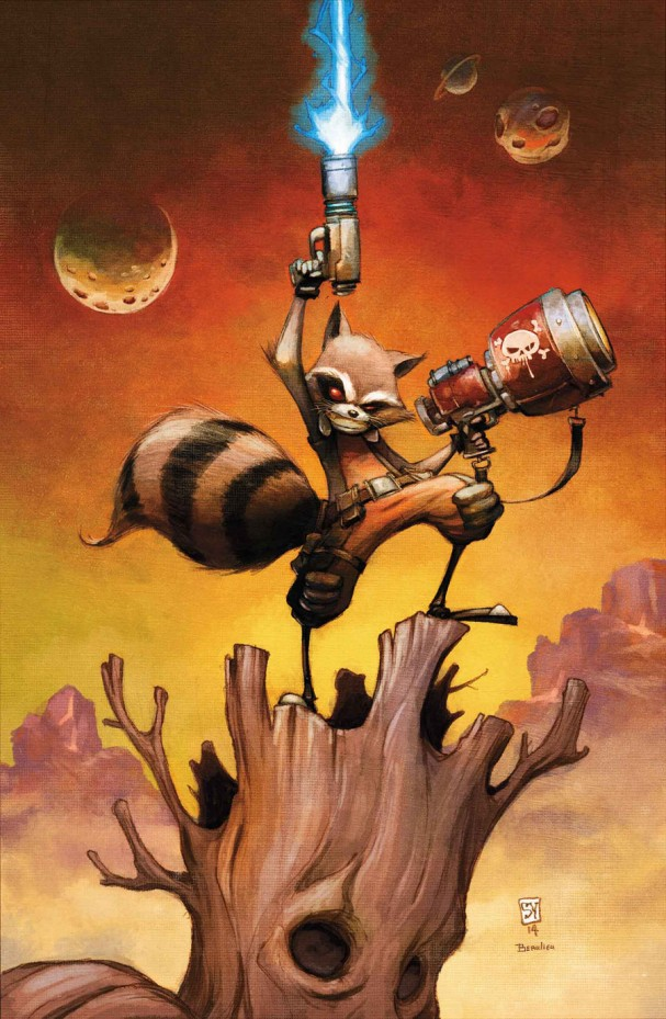 Rocket Raccoon #1 (Marvel) - Artist: Skottie Young