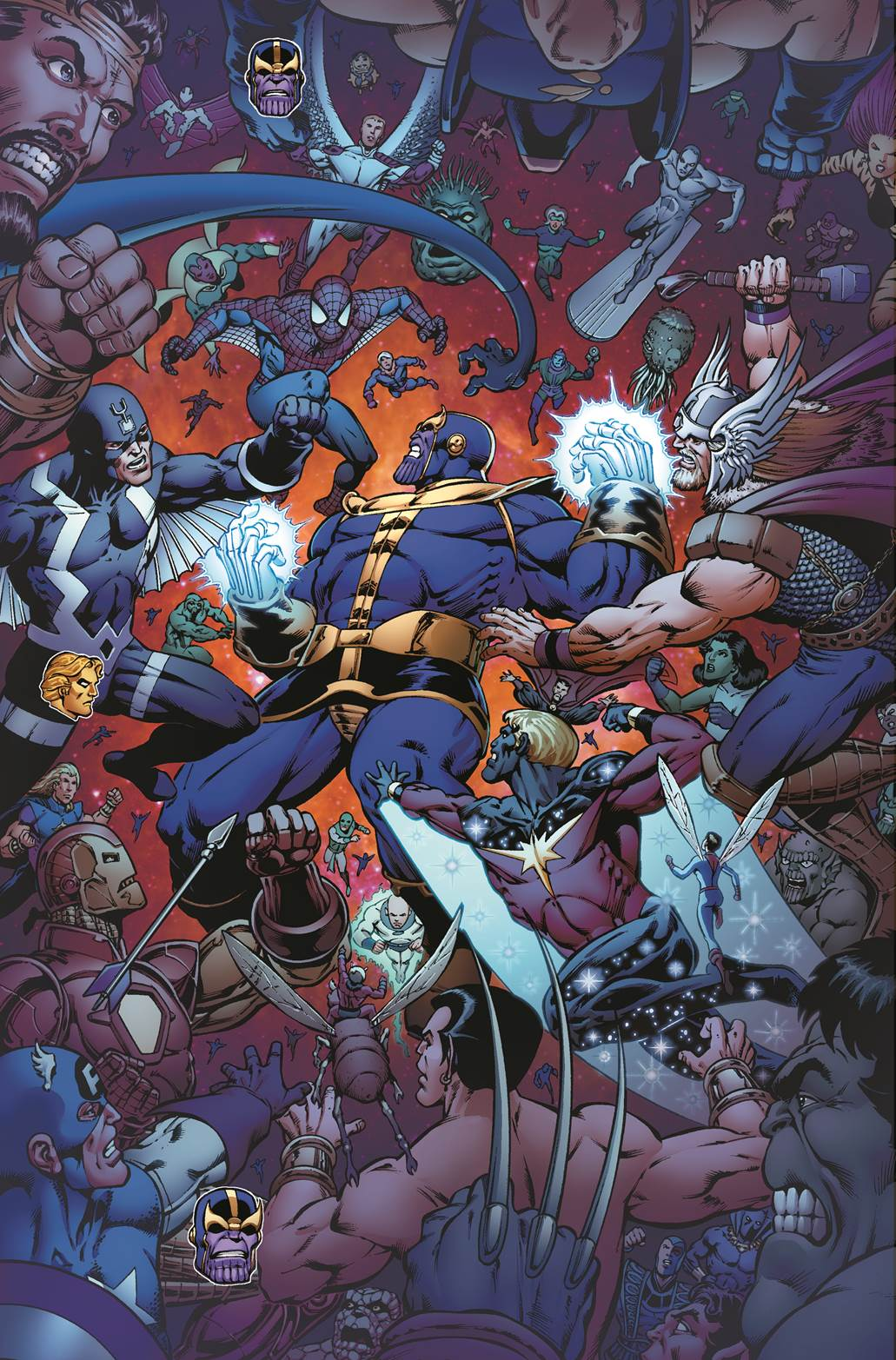 The Infinity Wart Saga Part 1 Issue: Comics: First Look At 'Thanos: The Infinity Revelation