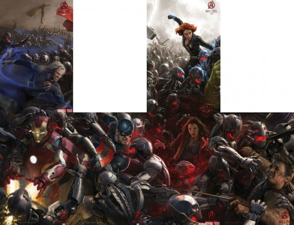 Avengers: Age of Ultron posters