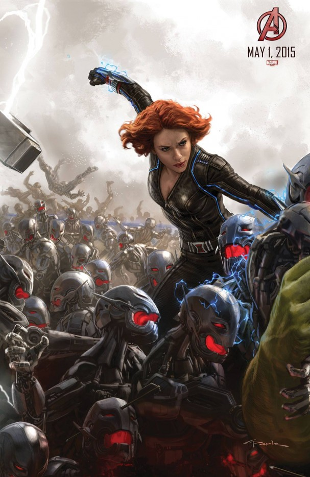 Avengers: Age of Ultron - Black Widow poster