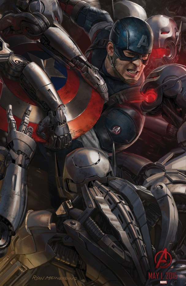 Avengers: Age of Ultron - Captain America poster