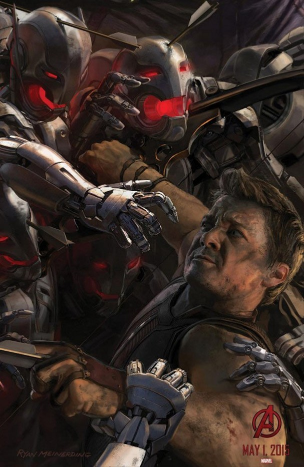 Avengers: Age of Ultron - Hawkeye poster