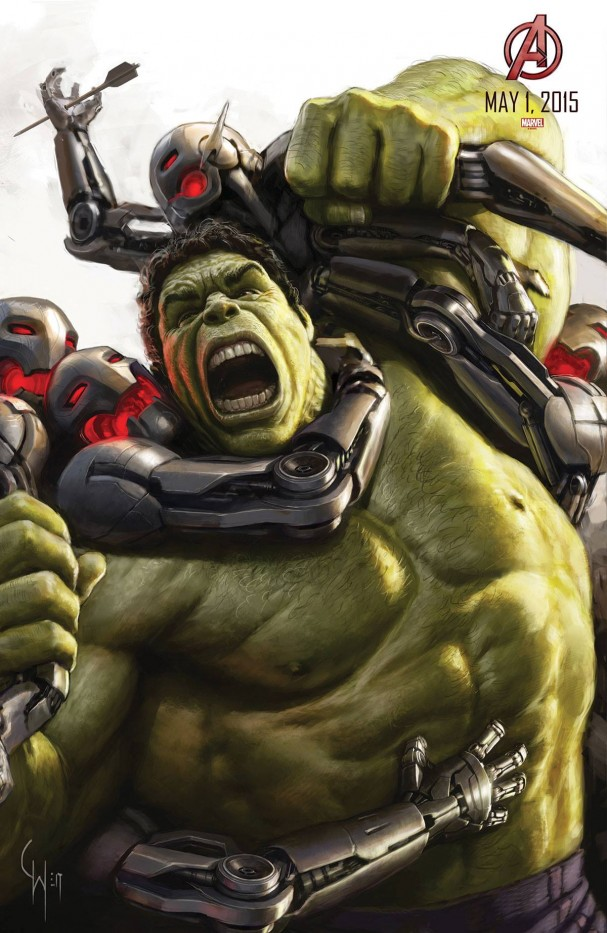 Avengers: Age of Ultron - Hulk poster