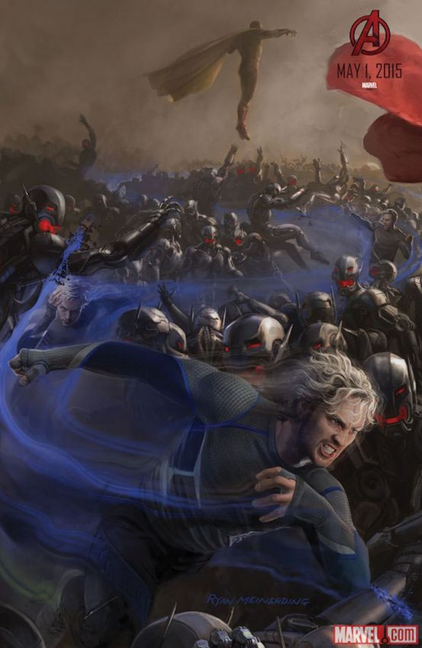 Avengers: Age of Ultron - Quicksilver poster