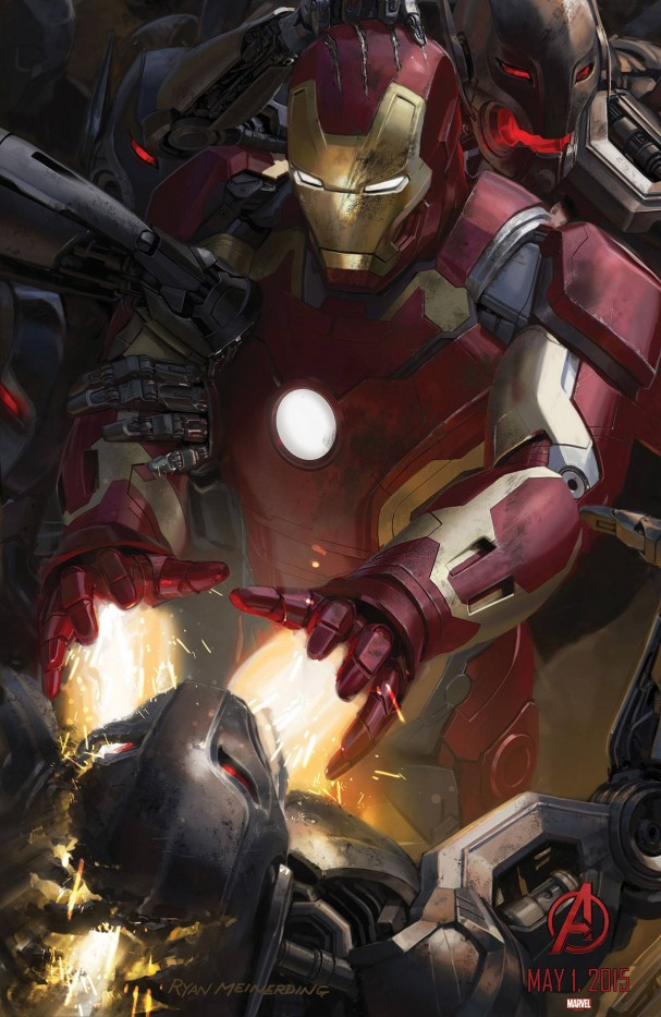 Avengers: Age of Ultron - Iron Man poster