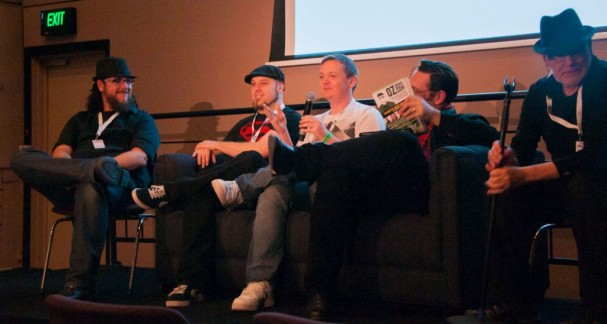 Gestalt Comics Panel at Oz Comic-Con 2014 Melbourne