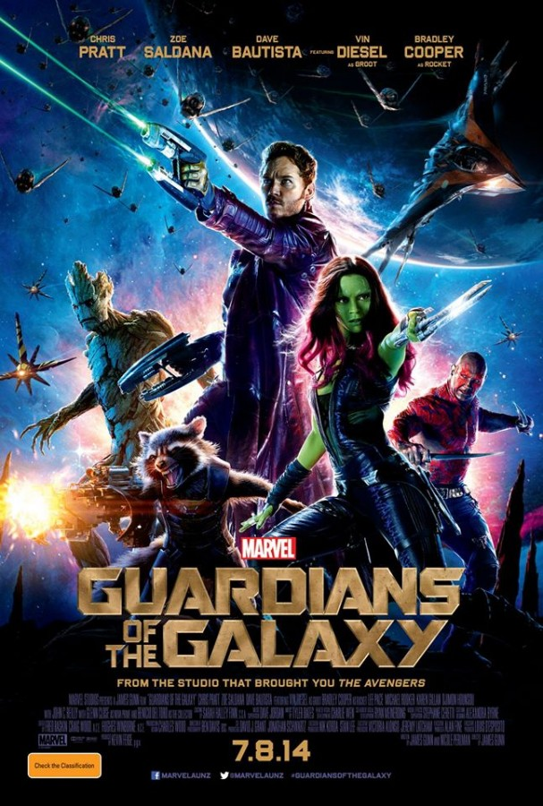 Guardians of the Galaxy poster (Australia)