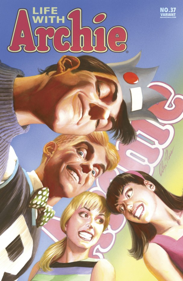 Life with Archie #37 (Archie Comics) - Artist: Alex Ross