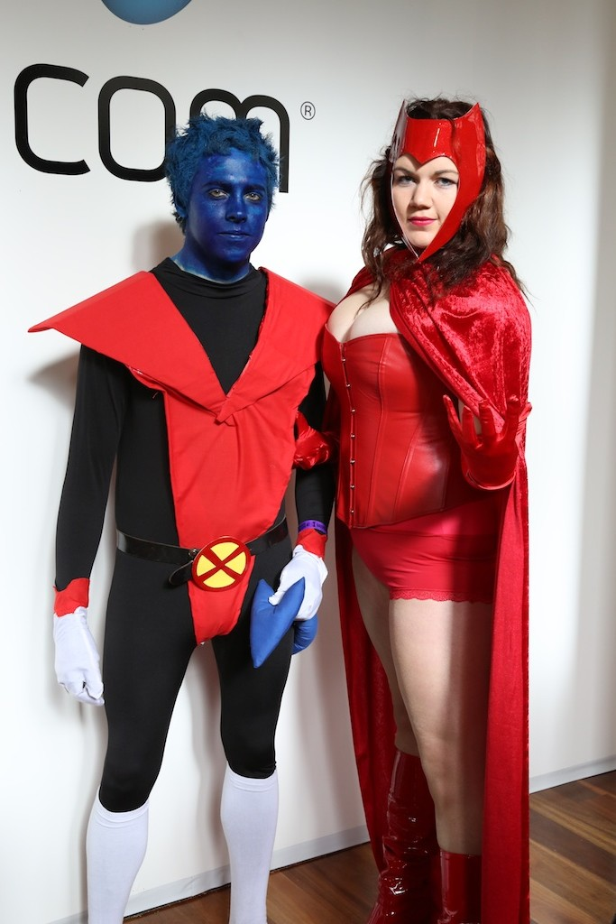 Oz Comic-Con 2014 – Melbourne cosplay – Nightcrawler and ...