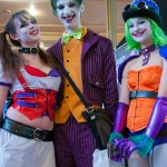 Oz Comic-Con 2014 - Melbourne cosplay - Harley Quinn, The Joker and Duella Dent