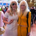 Oz Comic-Con 2014 - Melbourne cosplay - Elle and The Bride (Kill Bill)