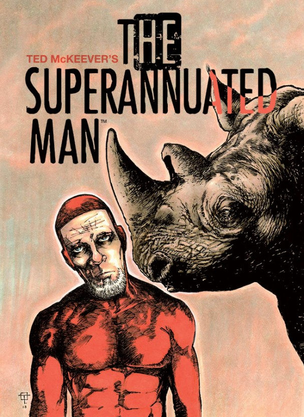 The Superannuated Man #2 (Image Comics) - Artist: Ted McKeever