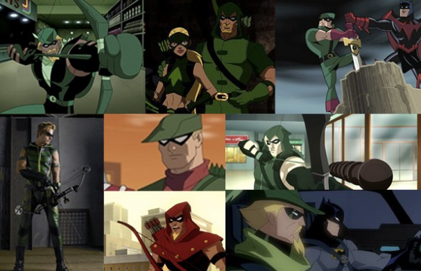 Green Arrow - TV Montage (2004 - 2011)