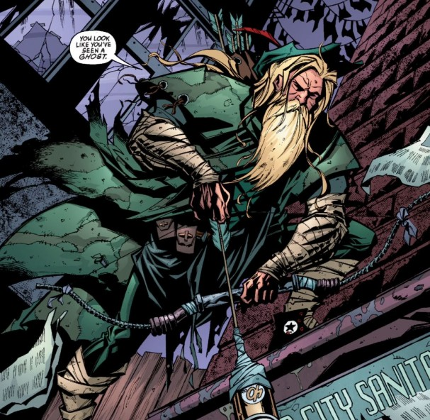 Green Arrow#1 (Volume 3) - Phil Hester and Ande Parks