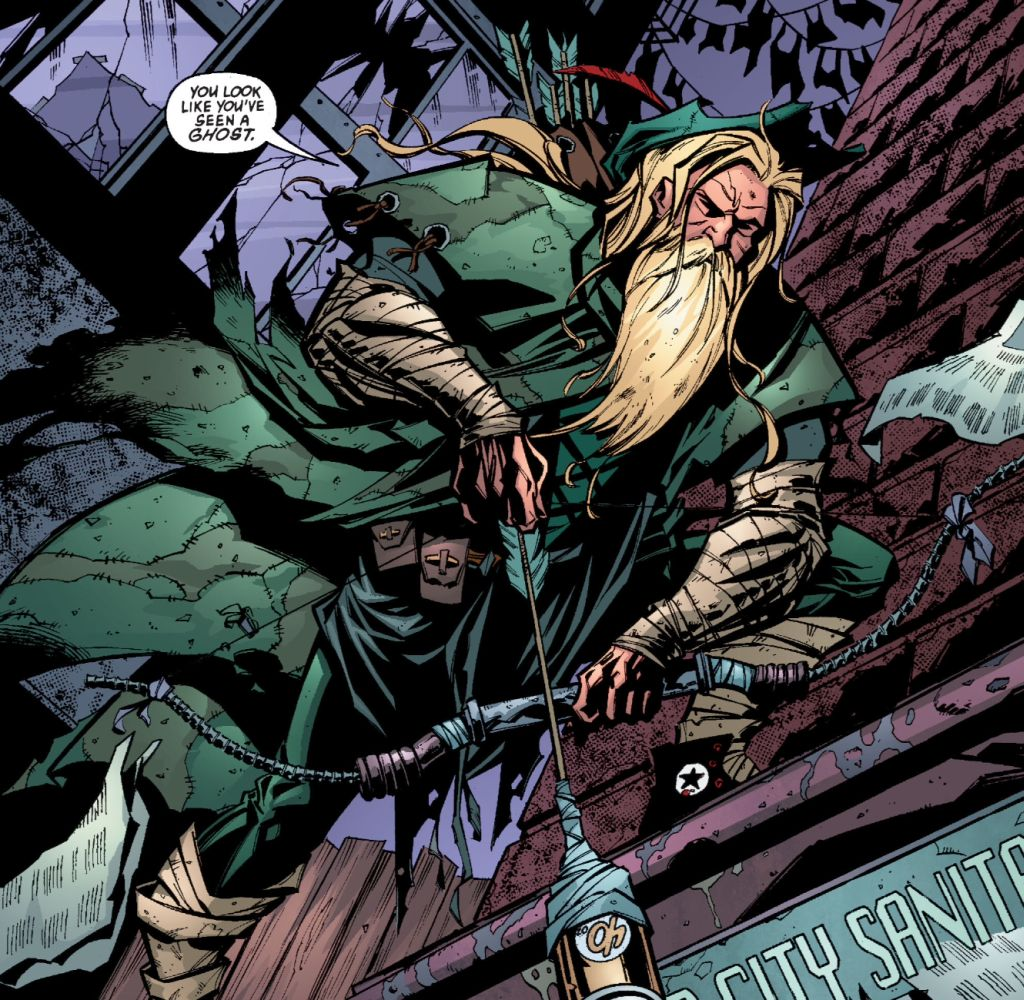 Green Arrow Into The Woods