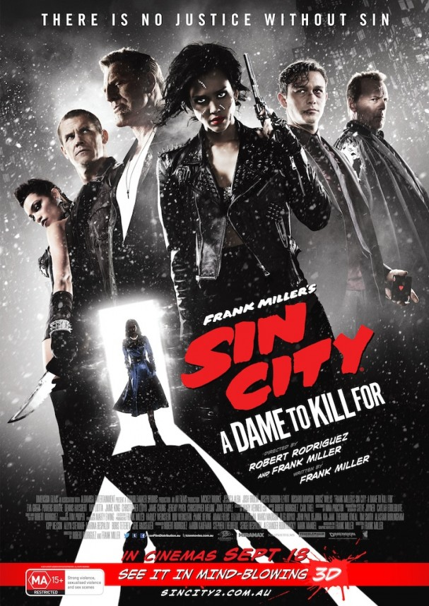 Sin City: A Dame to Kill For poster (Australia)