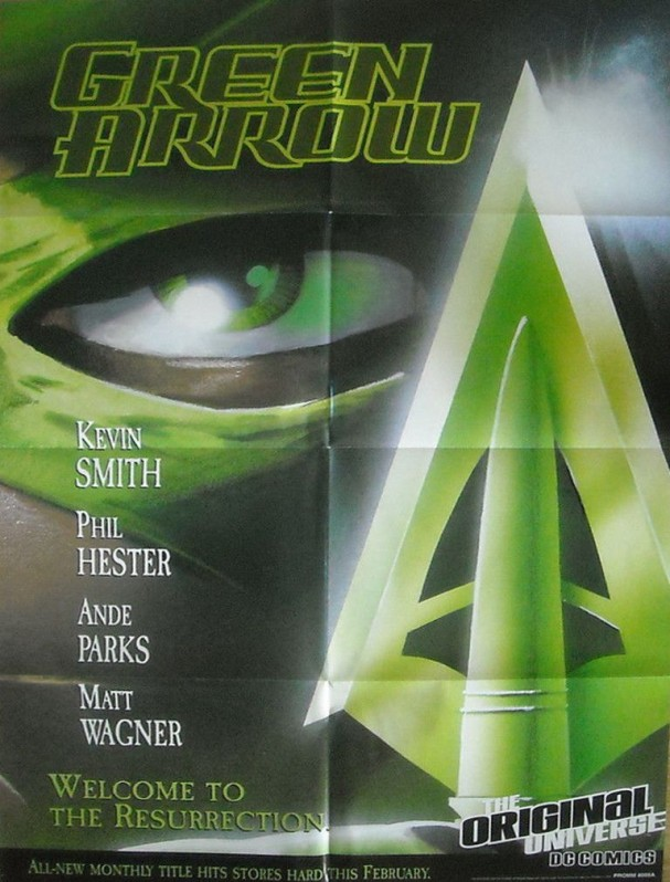 Green Arrow promo poster (2001) - Kevin Smith's Quiver