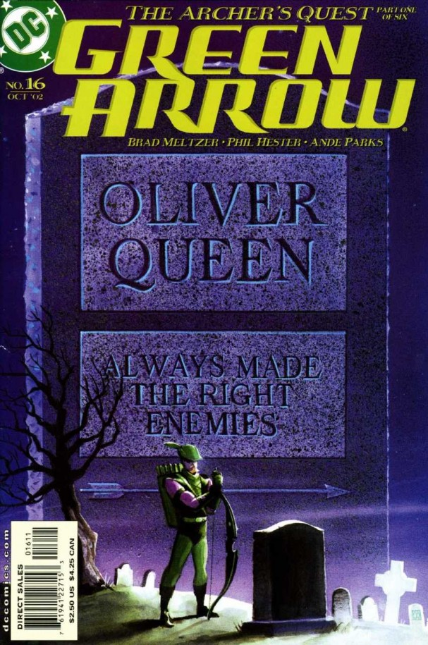 Green Arrow #13 (Volume 3) - Brad Meltzer