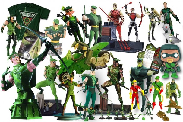Green Arrow merchandise (2000 - 2011)