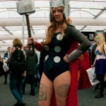 Oz Comic-Con 2014 (Sydney) cosplay - Female Thor