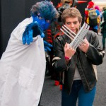 Oz Comic-Con 2014 (Sydney) cosplay - Beast and Wolverine