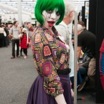 Oz Comic-Con 2014 (Sydney) cosplay - Harvey Dent/Two-Face and Duela Dent