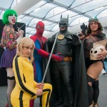 Oz Comic-Con 2014 (Sydney) cosplay - Duela Dent, Spider-Man, Batman, Rocketeer, The Bride (Kill Bill)