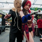 Oz Comic-Con 2014 (Sydney) cosplay - Harley Quinn and Scarecrow