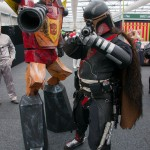 Oz Comic-Con 2014 (Sydney) cosplay - Transformers and Bob Fett