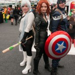 Oz Comic-Con 2014 (Sydney) cosplay - Black Widow and Captain America