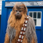 Oz Comic-Con 2014 (Sydney) cosplay - Chewbacca and the TARDIS