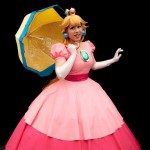 Oz Comic-Con 2014 (Sydney) cosplay - Princess Peach