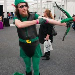 Oz Comic-Con 2014 (Sydney) cosplay - Green Arrow