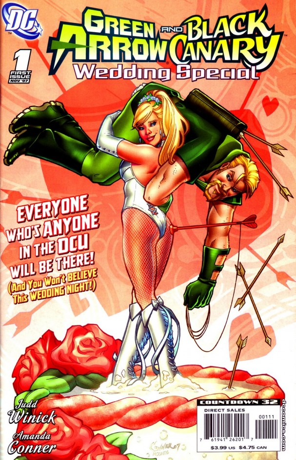 Green Arrow/Black Canary Wedding Special