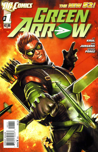 Green Arrow #1 (September 2011)