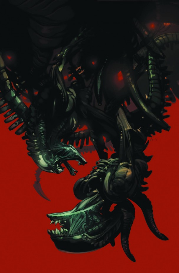 Aliens: Fire and Stone #1 (Dark Horse) - Artist: Fiona Staples