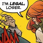 Batgirl #35 - I'm legal, loser!
