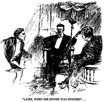 Illustration from an early Carnacki story