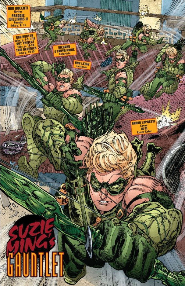 <i>Green Arrow #13</i> (Artist: Freddie E Williams II)