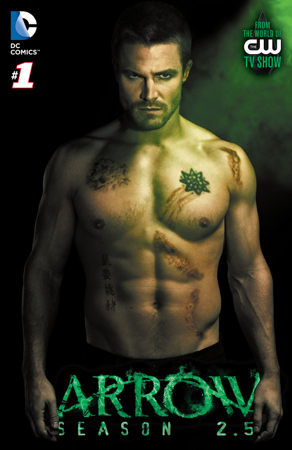 Arrow Season 2.5 #1 cover (DC Entertainment)