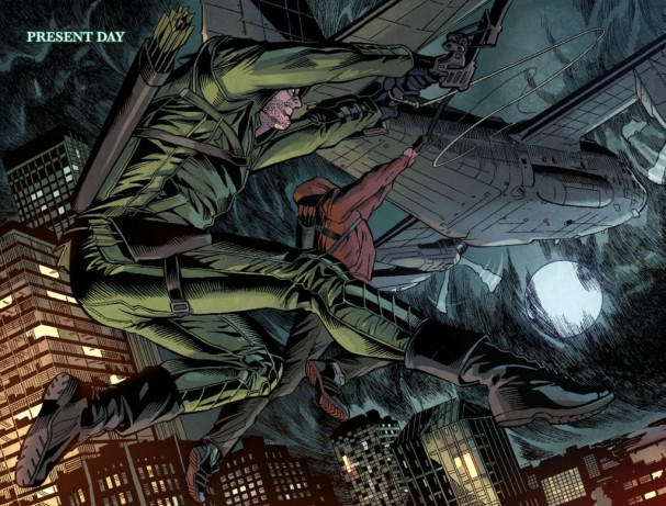 Arrow Season 2.5 #1  (DC Entertainment). Artists: Joe Bennett and Jack Jadson