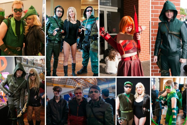 Green Arrow and Arrow cosplay montage (2012-2014)