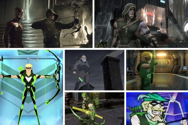 Green Arrow in other media (2011 - 2014)