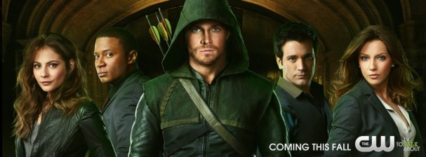 Arrow: Season 1 promo banner (May 2012)