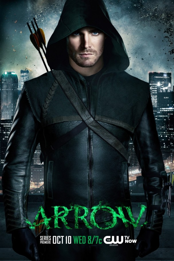 Arrow: Season 1 - Series premiere poster